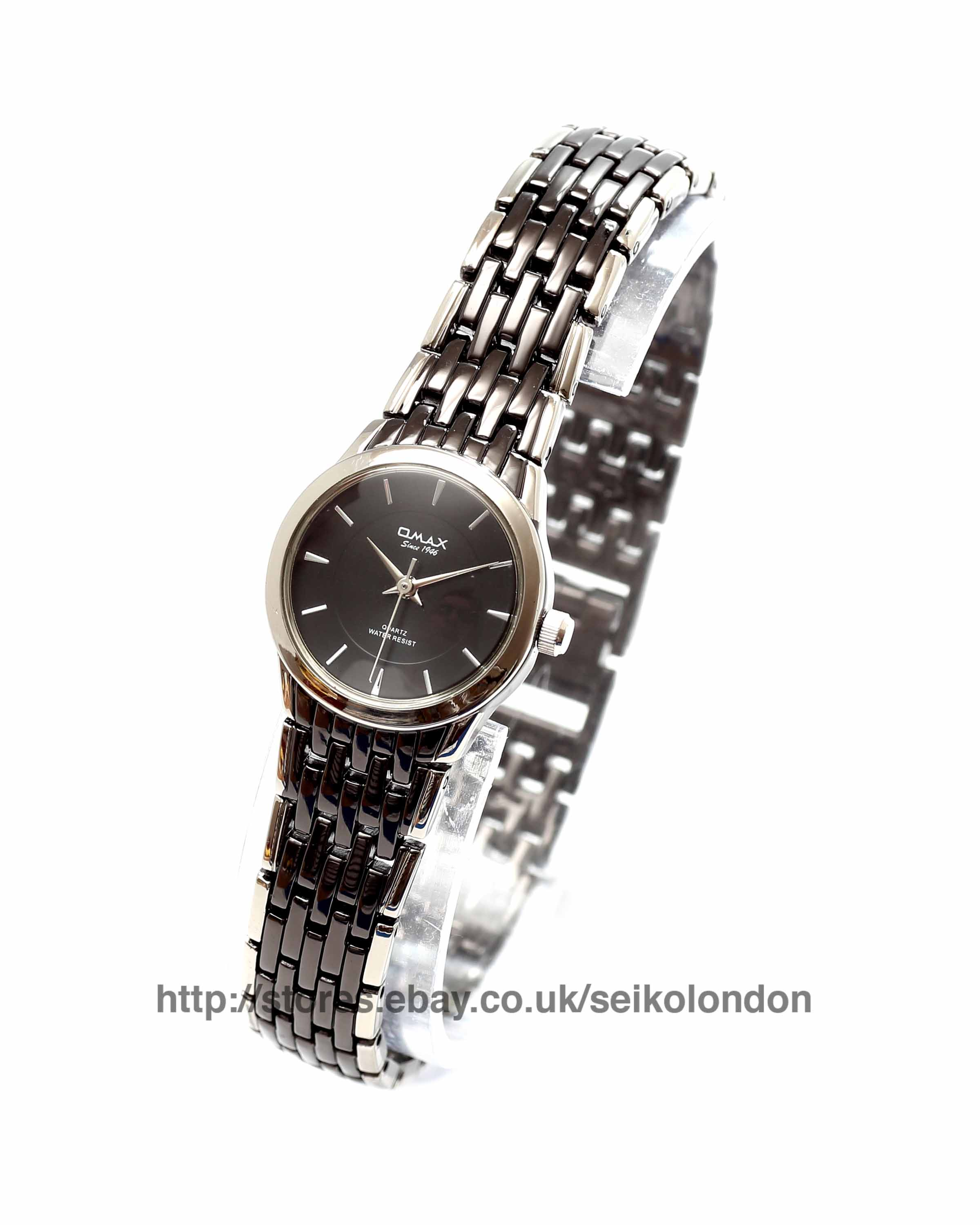 watches no black dial stainless product main white case pattern silver menu strap